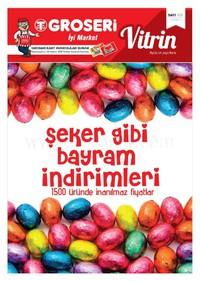 Groseri 01 - 30 Haziran 2018 Kampanya Broşürü! Sayfa 1