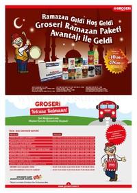 Groseri 01 - 30 Haziran 2018 Kampanya Broşürü! Sayfa 2