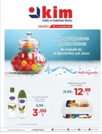 Kim Market Ege Bölgesi 09 - 21 Haziran 2018 Kampanya Broşürü! Sayfa 1