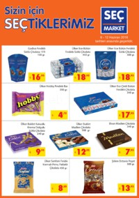 Seç Market 06 - 12 Haziran 2018 Kampanya Broşürü! Sayfa 1