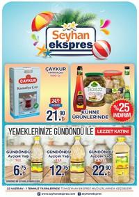 Seyhan Ekspress 22 Haziran - 01 Temmuz 2018 Kampanya Broşürü! Sayfa 1