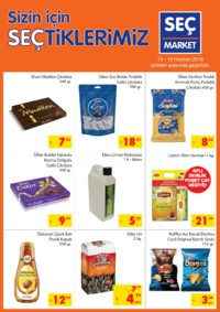 Seç Market 13 - 19 Haziran 2018 Kampanya Broşürü! Sayfa 1