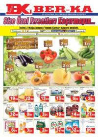 Grup Ber-ka Market 23 - 30 Haziran 2018 Kampanya Broşürü! Sayfa 1 Önizlemesi