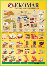 Ege Ekomar Market 12 - 18 Haziran 2018 Kampanya Broşürü! Sayfa 1