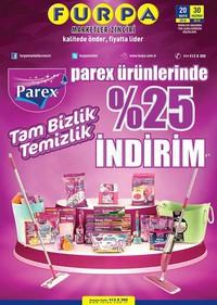 Furpa 20 - 30 Haziran 2018 Parex Ürünleri Kampanya Broşürü! Sayfa 1