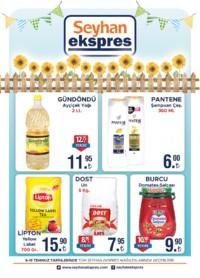 Seyhan Ekspress 06 - 15 Temmuz 2018 Kampanya Broşürü! Sayfa 1