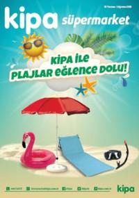 Kipa Süpermarket 19 Temmuz - 01 Ağustos 2018 Kampanya Broşürü: Kipa ile Pilajlar Eğlence Dolu! Sayfa 1