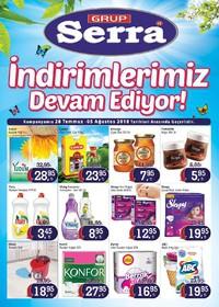 Serra Market 28 Temmuz - 05 Ağustos 2018 Kampanya Broşürü! Sayfa 1