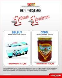 Groseri 26 Temmuz 2018 1Alana 1 Bedava Kampanya Broşürü! Sayfa 2