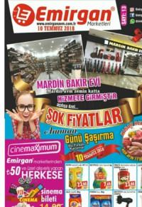 Emirgan Market 10 Temmuz 2018 Kampanya Broşürü! Sayfa 1