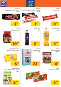 Seç Market 18 - 24 Temmuz 2018 Kampanya Broşürü! Sayfa 2