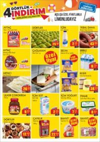 Dörtler Market 05 - 08 Temmuz 2018 Limonlu Şubesi Özel Kampanya Broşürü! Sayfa 2