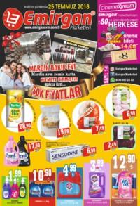Emirgan Market 25 Temmuz 2018 Kampanya Broşürü! Sayfa 1