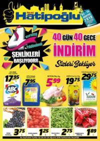 Hatipoğlu 02 - 15 Ağustos 2018 Kampanya Broşürü! Sayfa 1