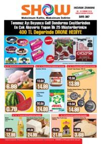Show Hipermarketleri 06 - 19 Temmuz 2018 Kampanya Broşürü! Sayfa 1