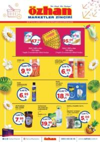Özhan Marketler Zinciri 25 - 31 Temmuz 2018 Kampanya Broşürü! Sayfa 1