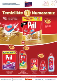 Özhan Marketler Zinciri 25 - 31 Temmuz 2018 Kampanya Broşürü! Sayfa 4 Önizlemesi