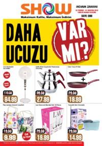 Show Hipermarketleri 20 Temmuz - 01 Ağustos 2018 Kampanya Broşürü! Sayfa 1