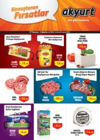 Akyurt Süpermarket 27 Temmuz - 09 Ağustos 2018 Kampanya Broşürü! Sayfa 1