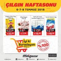Milli Pazar Market 06 - 08 Temmuz 2018 Kampanya Broşürü! Sayfa 2