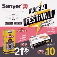 Sarıyer Market 06 - 18 Temmuz 2018 Kampanya Broşürü! Sayfa 1