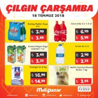 Milli Pazar Market 18 Temmuz 2018 Kampanya Broşürü! Sayfa 4 Önizlemesi