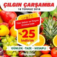 Milli Pazar Market 18 Temmuz 2018 Kampanya Broşürü! Sayfa 9 Önizlemesi