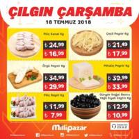 Milli Pazar Market 18 Temmuz 2018 Kampanya Broşürü! Sayfa 2 Önizlemesi