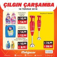 Milli Pazar Market 18 Temmuz 2018 Kampanya Broşürü! Sayfa 8 Önizlemesi
