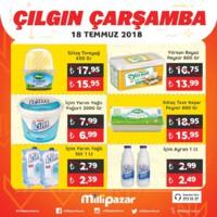 Milli Pazar Market 18 Temmuz 2018 Kampanya Broşürü! Sayfa 3 Önizlemesi