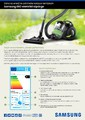Samsung 2018 Süpürge Kataloğu Sayfa 1
