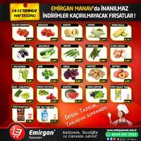 Emirgan Market 14 - 15 Temmuz 2018 Hafta Sonu Kampanya Broşürü! Sayfa 1