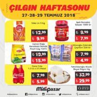 Milli Pazar Market 27 - 29 Temmuz 2018 Kampanya Broşürü! Sayfa 2