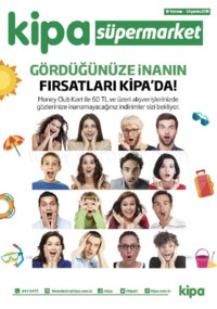 Kipa Süpermarket 19 Temmuz - 01 Ağustos 2018 Kampanya Broşürü! Sayfa 1