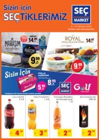 Seç Market 04 - 10 Temmuz 2018 Kampanya Broşürü! Sayfa 1