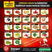 Emirgan Market 18 Temmuz 2018 Kampanya Broşürü! Sayfa 1