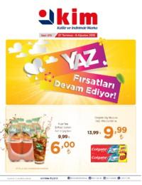 Kim Market 27 Temmuz - 06 Ağustos 2018 Marmara Bölgesi Kampanya Broşürü! Sayfa 1