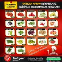 Emirgan Market 11 Temmuz 2018 Kampanya Broşürü! Sayfa 1