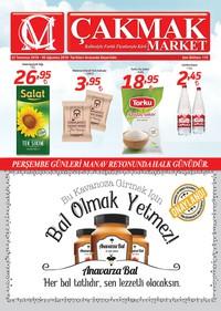 Çakmak Market 22 Temmuz - 05 Ağustos 2018 Kampanya Broşürü! Sayfa 1