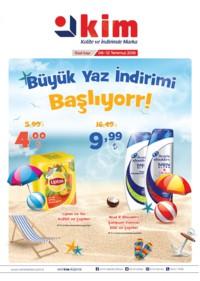 Kim Market Marmara Bölgesi 06 - 12 Temmuz 2018 Kampanya Broşürü! Sayfa 1