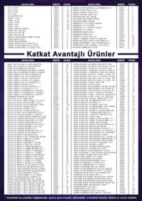 Zırhlıoğlu Toplu Tüketim 01 Nisan - 30 Eylül 2018 Kampanya Broşürü! Sayfa 2