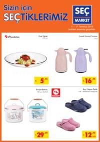 Seç Market 11 - 17 Temmuz 2018 Kampanya Broşürü! Sayfa 1