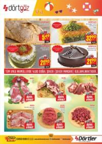 Dörtler Market 16 - 31 Temmuz 2018 Kampanya Broşürü! Sayfa 2