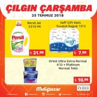 Milli Pazar Market 25 Temmuz 2018 Kampanya Broşürü! Sayfa 5 Önizlemesi