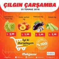 Milli Pazar Market 25 Temmuz 2018 Kampanya Broşürü! Sayfa 2