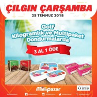 Milli Pazar Market 25 Temmuz 2018 Kampanya Broşürü! Sayfa 1