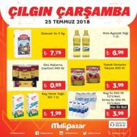 Milli Pazar Market 25 Temmuz 2018 Kampanya Broşürü! Sayfa 4 Önizlemesi