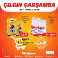 Milli Pazar Market 25 Temmuz 2018 Kampanya Broşürü! Sayfa 3 Önizlemesi