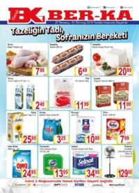 Grup Ber-ka Market 27 - 31 Temmuz 2018 Kampanya Broşürü! Sayfa 1