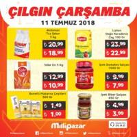 Milli Pazar Market 11 - 15 Temmuz 2018 Kampanya Broşürü! Sayfa 4 Önizlemesi